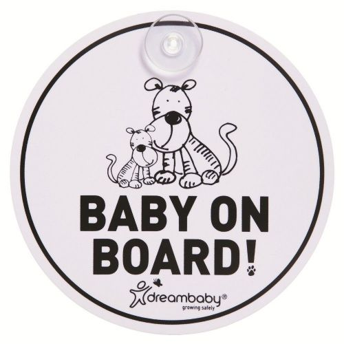 Baby On Board Car Sign (Tigers)